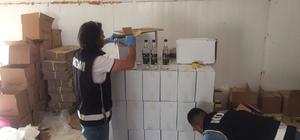 Manisa'da kaçak içki tesisine operasyon