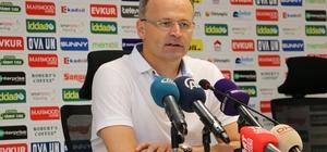 """İrfan Buz: """"Gol bölgelerinde büyük sıkıntılar yaşadık"""" Osmanlıspor Teknik Direktörü İrfan Buz: """"Futbolcular elinden gelen her şeyi yaptılar"""""""