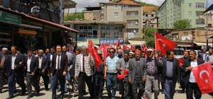 Hizan'da 'Kudüs' protestosu