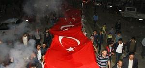 Hizan'da 19 Mayıs 'Meşaleli Yürüyüş' ile kutlandı