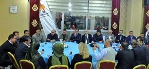 AK Parti Van İl Başkanı Türkmenoğlu,  basınla iftarda bir araya geldi.