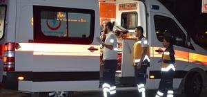 Ticari araç otomobile çarptı: 5 yaralı