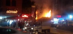 Malatya'da araç yangını