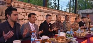 Vali Elban polislerle iftar yaptı
