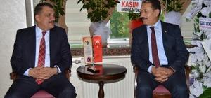Başkan Gürkan'dan Keskin'e ziyaret