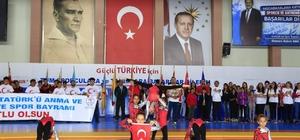 Nevşehir'de 19 Mayıs Atatürk'ü Anma Gençlik ve Spor Bayramı kutlandı