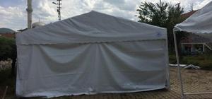 Pazaryeri'nde iftar çadırları yenilendi