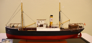 Tarihe yön veren gemilerin maketleri sergilendi
