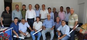 Söke Muhtar Derneği'nde Mustafa Öztürk yeniden başkanlığa seçildi