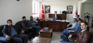 Engellilerden Rektör Pakiş'e teşekkür ziyareti