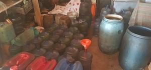 950 litre kaçak yakıtla yakalandı