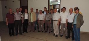Madeni Eşya ve Sanatkarlar Odası başkanları bir araya geldi