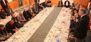Yahyalı'da Kardeşlik Sofrası buluşmaları devam ediyor