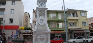 Saat kulesi Malkara ilçe merkezine modern görünüm kazandırdı