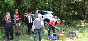 Bolu'da tatil dönüşü trafik kazası: 3 yaralı