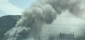 Yalova'da fabrika yangını Kimyasal madde üreten fabrikada çıkan yangın söndürülmeye çalışılıyor