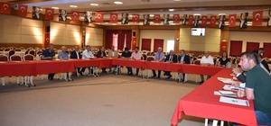 Çırakbayırı-Marmaracık güzergahı yol yapım projesi değerlendirildi