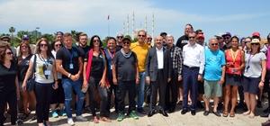 Allgaeu Orient Dostluk ve Barış Rallicileri Adana'da Bu yıl 13'üncüsü düzenlenen, Fransa'da başlayıp Ürdün'de sona eren, Allgaeu Orient Dostluk ve Barış Rallisi'nin yeni durağı Adana oldu