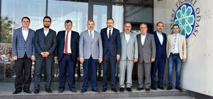 Başkan Çelik, KTO yönetimini ziyaret etti