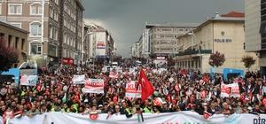 Erzurum Filistin'e destek için yürüdü