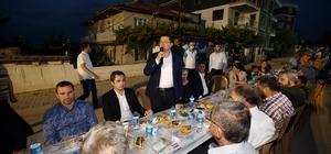 Merkezefendililer mahalle iftarlarında buluşmaya devam ediyor