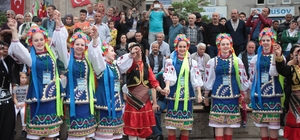 3 bin yıllık Uluslararası Aksu Festivali kortej eşliğinde başladı
