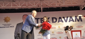 Muharrem ince Sinop'a geldi
