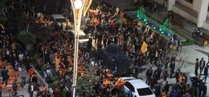 Hakkari'de Galatasaray coşkusu sokaklara taştı