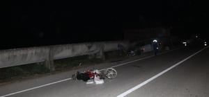 Düzce'de otomobille motosiklet çarpıştı: 5 yaralı