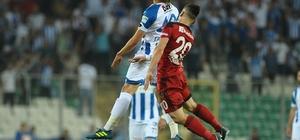 Spor Toto 1. Lig Play-off finali: Gazişehir Gaziantep: 0 - BB Erzurumspor: 0 (90 dakika sonucu)