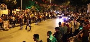 Zonguldak'ta Galatasaray taraftarları şampiyonluk sevinci yaşadı