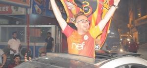 Cizre'de Galatasaray'ın şampiyonluk coşkusu