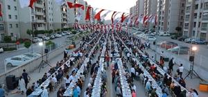 Yavuz Sultan Selim'de bin 500 kişilik iftar