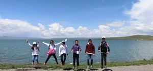 Kars'ta lider çocuk tarım kampı sona erdi