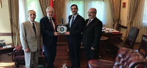 Uludağ Üniversitesi'nden kardeş ülkeye işbirliği ziyareti