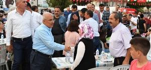 Ramazan sofrası Silifke'de kuruldu