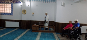 Karacasu'da en kapsamlı engelsiz cami törenle açıldı