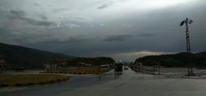 Tosya-Ortalıca Kavşağı'nda tır kazası: 1 yaralı