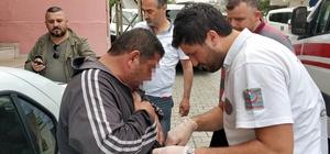 Samsun'da askerden yeni gelen genç babasını bıçakladı