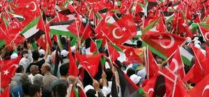 """Başbakan Binali Yıldırım Diyarbakır'da (2) İstasyon Meydanında kalabalığa hitap eden Yıldırım: """"Peygamber hatırası dinlemeyen zalimler, biliniz ki zulüm ile abad olunmaz"""" """"Filistin Türkiye'nin de meselesidir"""""""