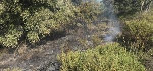 Aydın'da yangın Kuyucak Karapınar Mevkiinde çıkan yangın tarım ve ormanlık alanda etkili oluyor