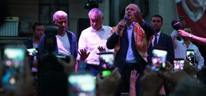 CHP'nin cumhurbaşkanı adayı İnce Adana'da