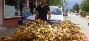Işkın Erzincan'da tezgahlardaki yerini aldı