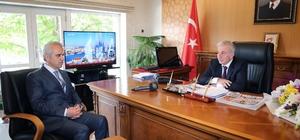 Tapu ve Kadastro Yöneticilerinden Vali Kamçı'ya Ziyaret