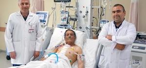 ÇOMÜ Araştırma Hastanesinde Bentall ameliyatı yapıldı