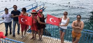 Antalya'da Mavi bayraklı Falez plajları açıldı
