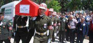 Terhisine 70 gün kala şehit olan asker son yolculuğuna uğurlanıyor