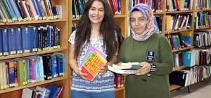 İl Halk Kütüphanesinde günlük 150 kitap ödünç veriliyor