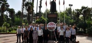 Tapu çalışanlarından Ata'ya saygı molası