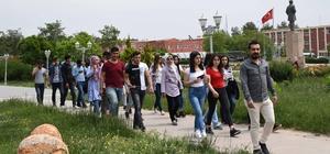 Tut ÇPAL öğrencileri üniversiteyi gezdi